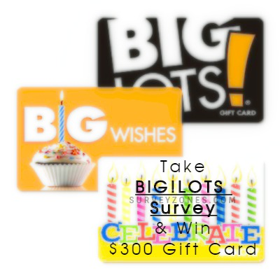 Big Lots Gift Card