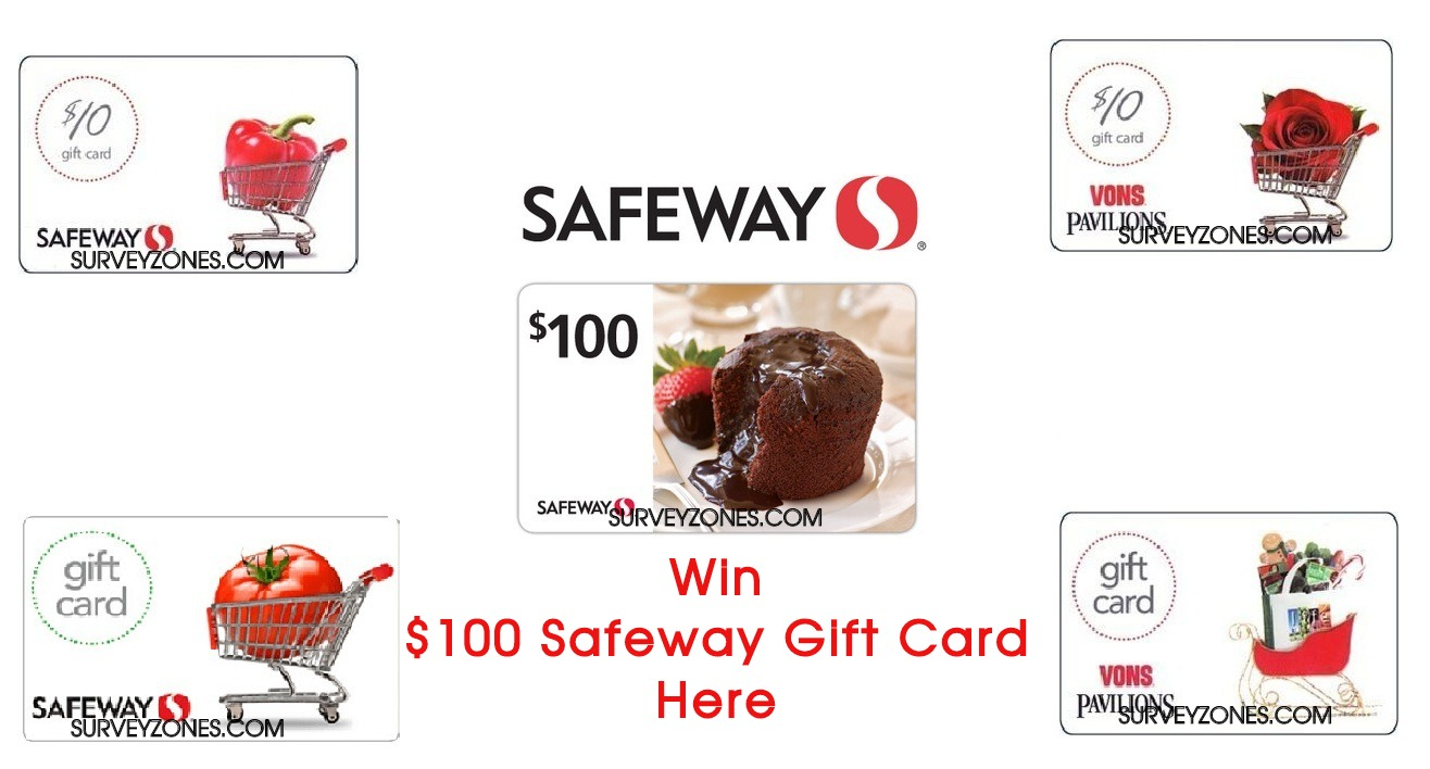 Safeway Gift Cards Survey