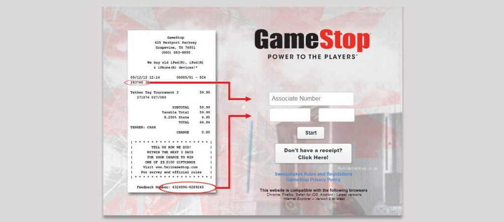 Tell GameStop