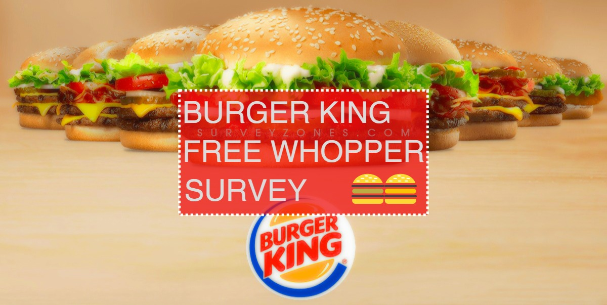 Burger King Free Whopper Survey