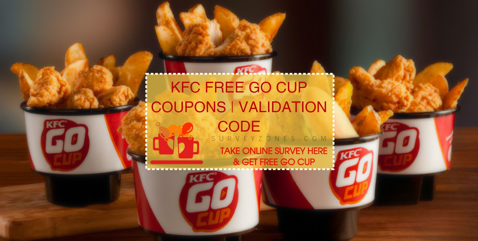 KFC Survey Free Go Cup