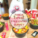 PANDA EXPRESS SURVEY | Panda Express Free Entree Survey