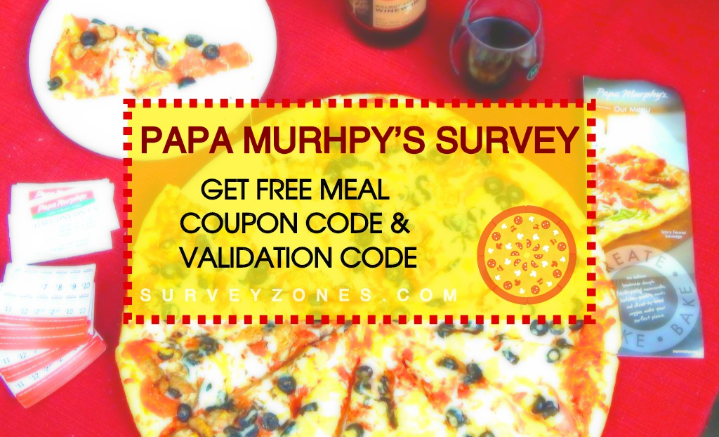 Papa Murphy's Survey Coupon code