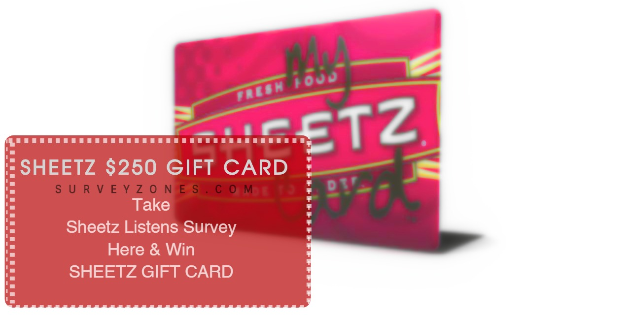 Sheetz Listens Survey