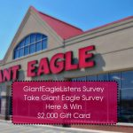 Gianteaglelistens.com | GIANT EAGLE Survey – Win $2000 Gift Card
