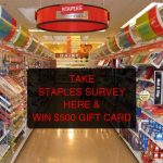 STAPLES SURVEY | WIN STAPLES CARES SURVEY GIFT CARD