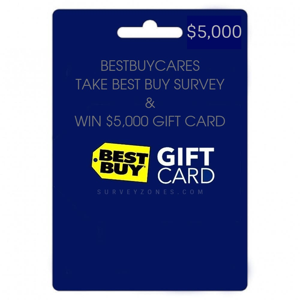 Best Buy Survey Sweepstakes