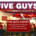 Five Guys Survey