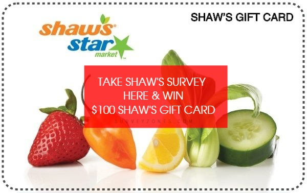 Shaws Gift Card