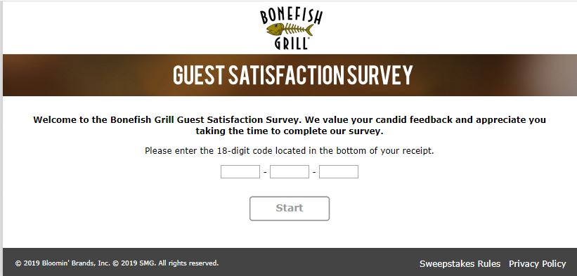 Bonefish Frill Survey