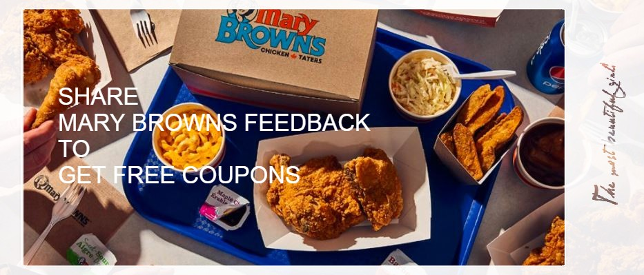Mary Browns Coupons